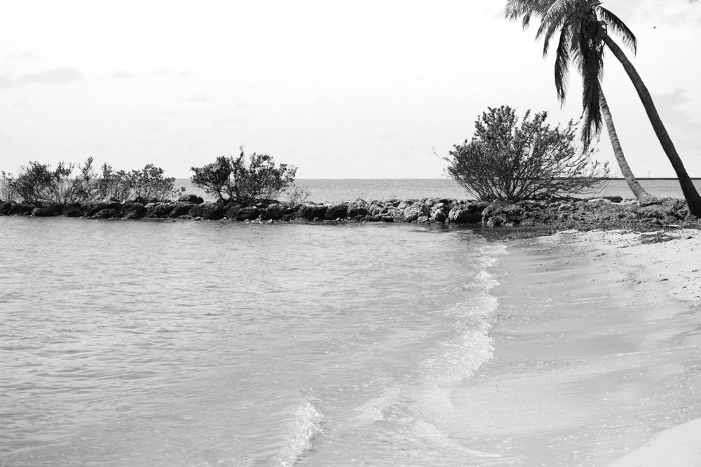 Black and White Key West Photography views