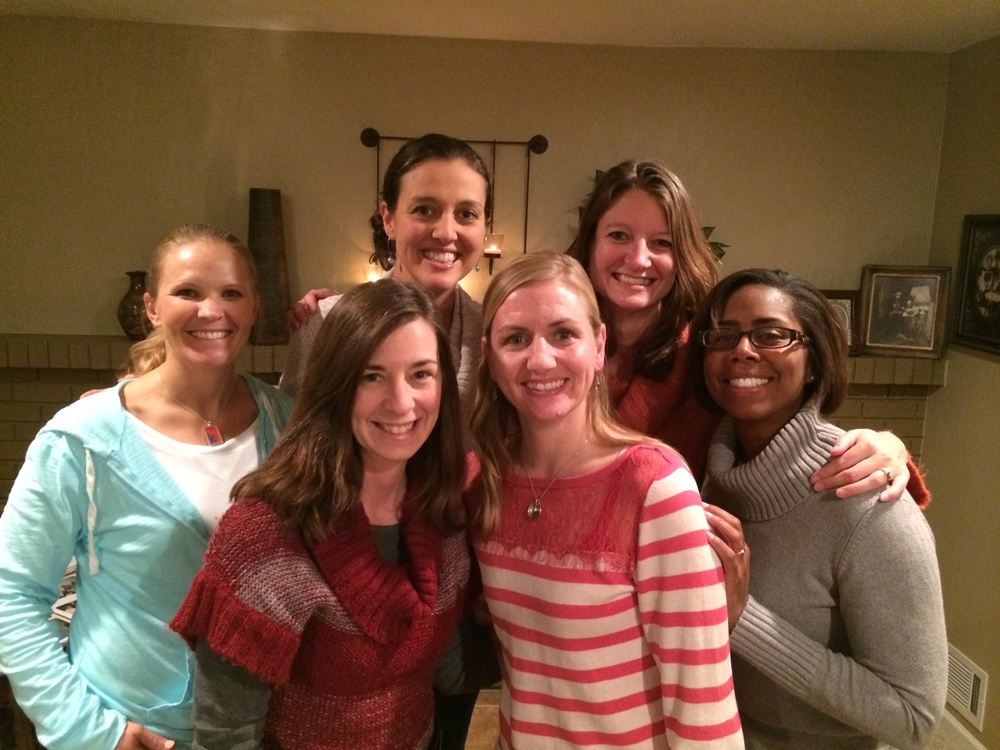 Ansley, Allie, Alivia, Stacy, and Sue--just some of the group who are cherished and lifelong friends...and all up in each other's bidness.