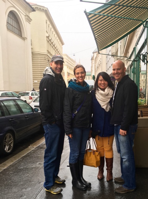 We are so thankful that the Lord brought the Forneys to Brno!  We know God has great things in store for this city through them.