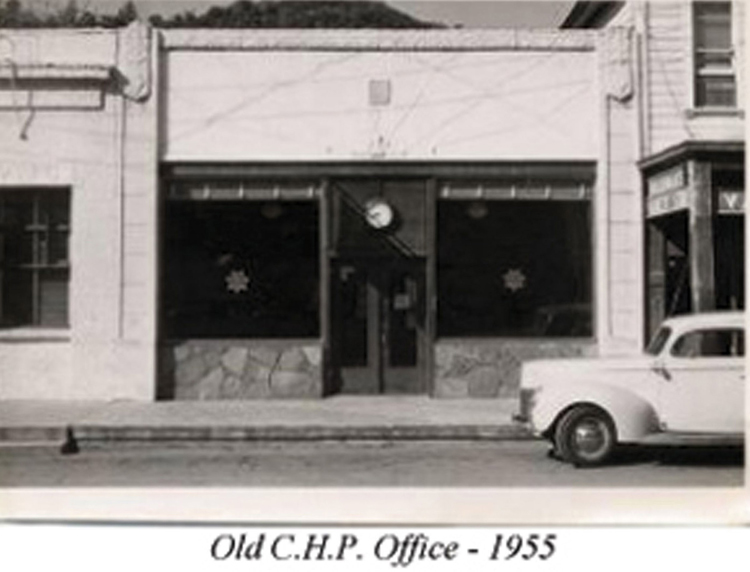 C.H.P. Office built in the 1930's