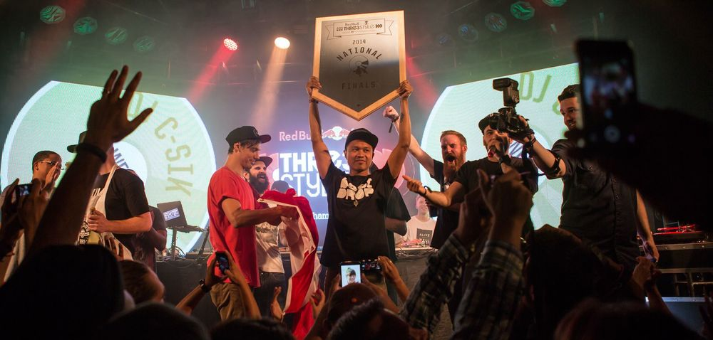 DJ C-Sik wins Canadian Redbull Thre3style