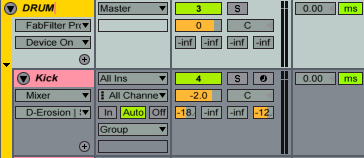 Select the track, Instrument, Effect, or Clip you want to rename, press command+R and type away.