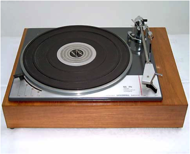 A 1970s era turntable.