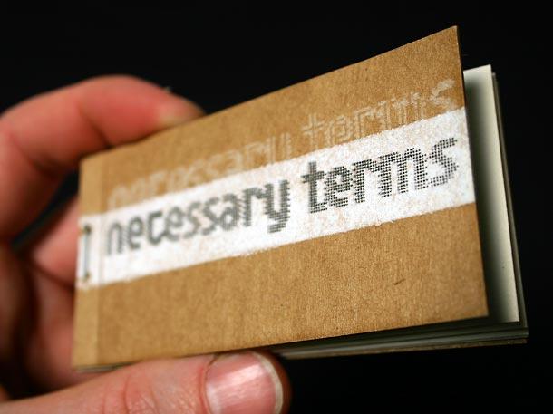 tear-off stencil card pack