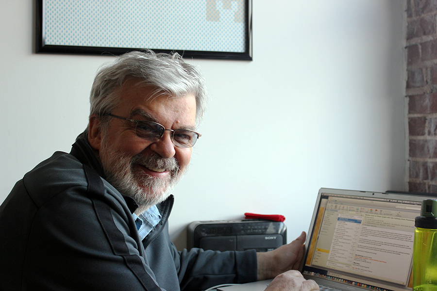 cedomir kostovic, my host and professor, in his office.