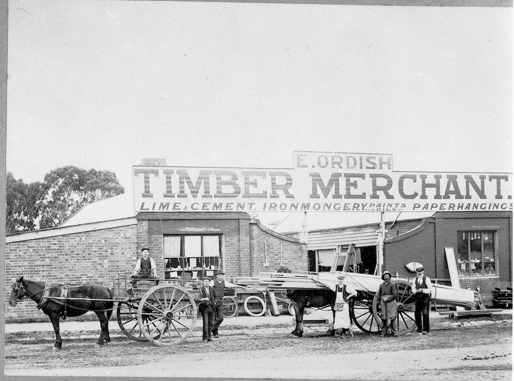 Ordish Timber Merchants - 1890s