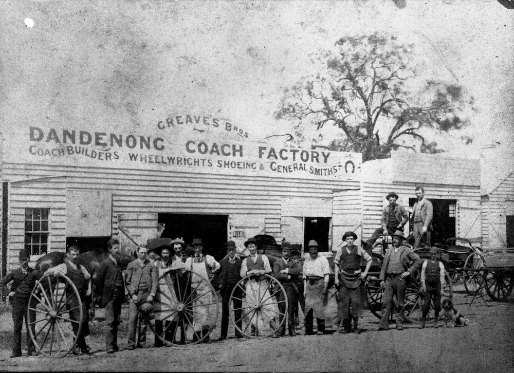 Creaves Bros, Dandenong Coach Factory - late 1800s