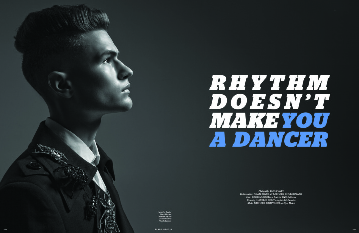 Black#14-Rhythm Doesn't Make You A Dancer.jpg