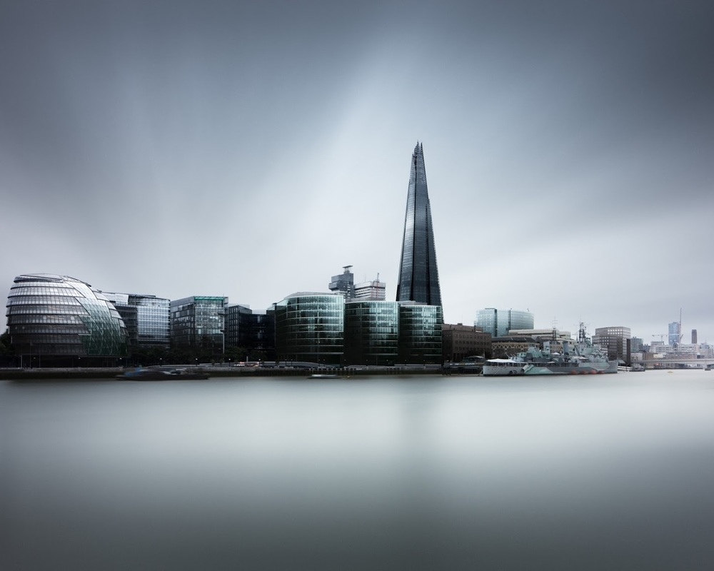 London Skyline with The Shard - Joel Tjintjelaar