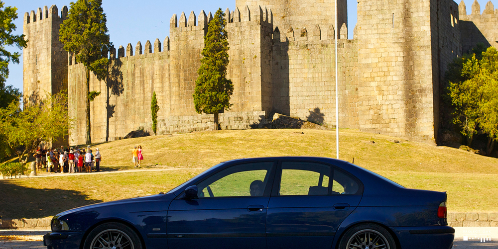Castle of Guimarães, 1000 years of history to defend the city that would be the birthplace of Portugal.