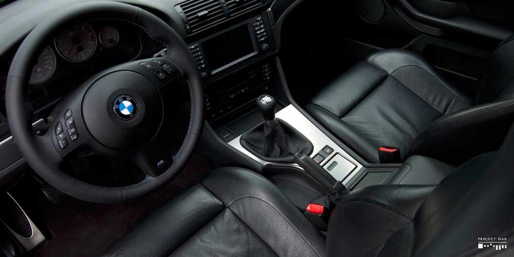 Perfectly clean interior, not disguised with dressings, now free from dirt and feeling as new.