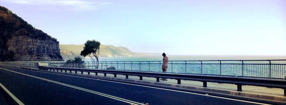 Seacliff Bridge.
