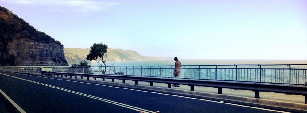Seacliff Bridge.