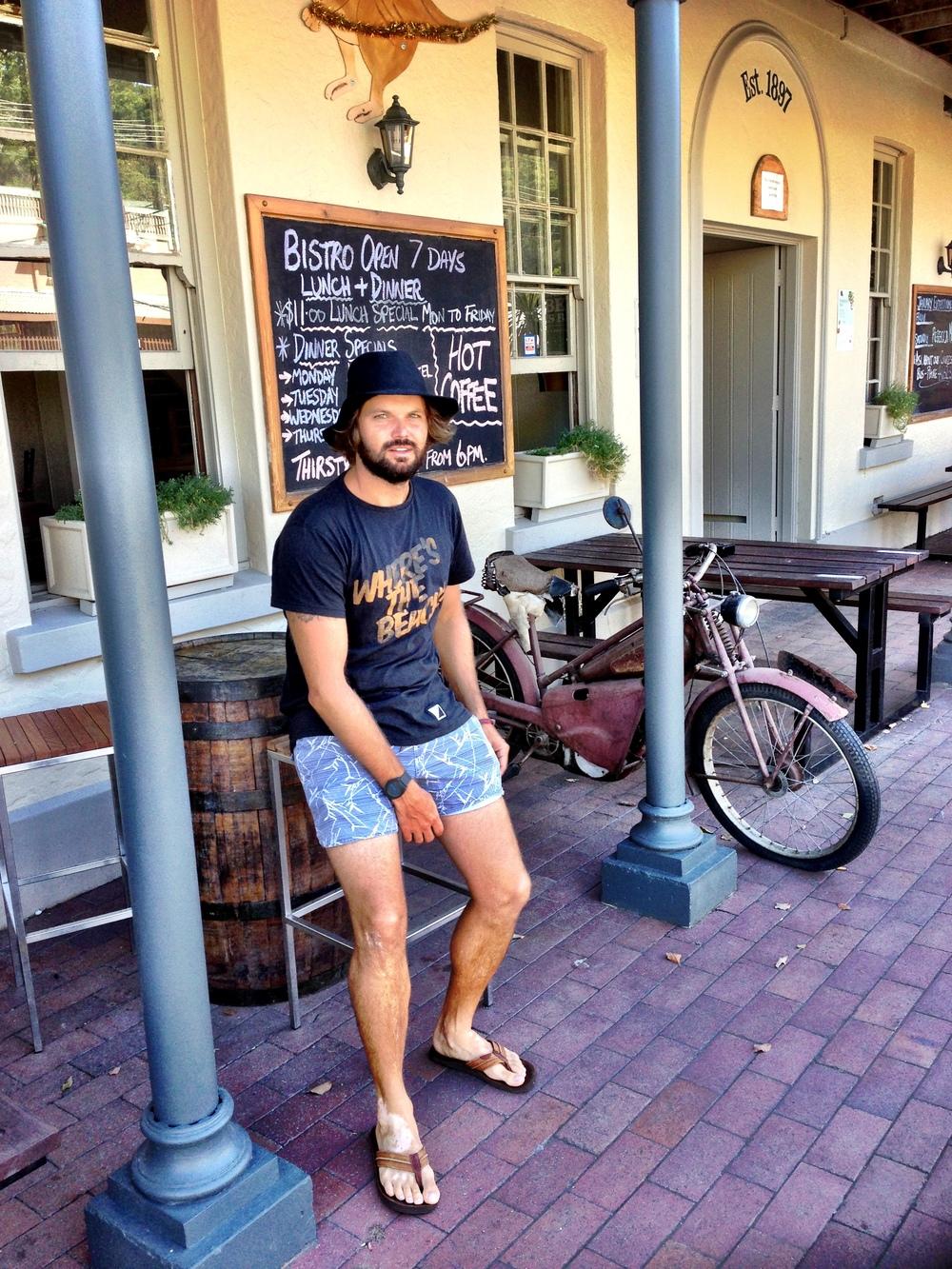 The local pub.