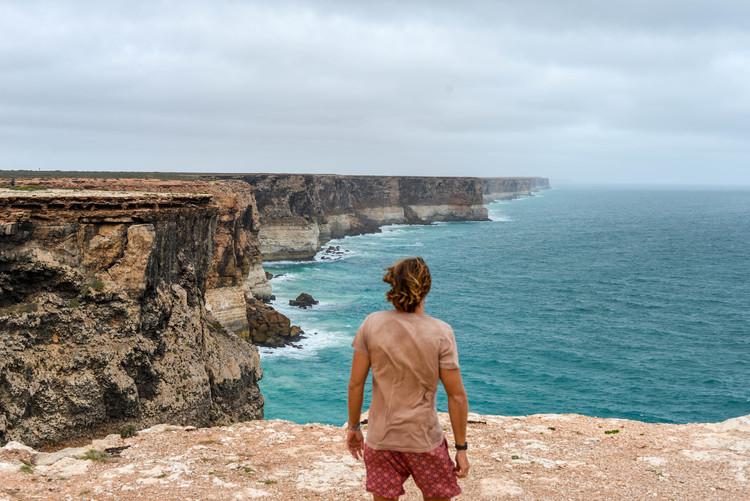 This memory of standing above the Great Australian Bight will stick with me forever.