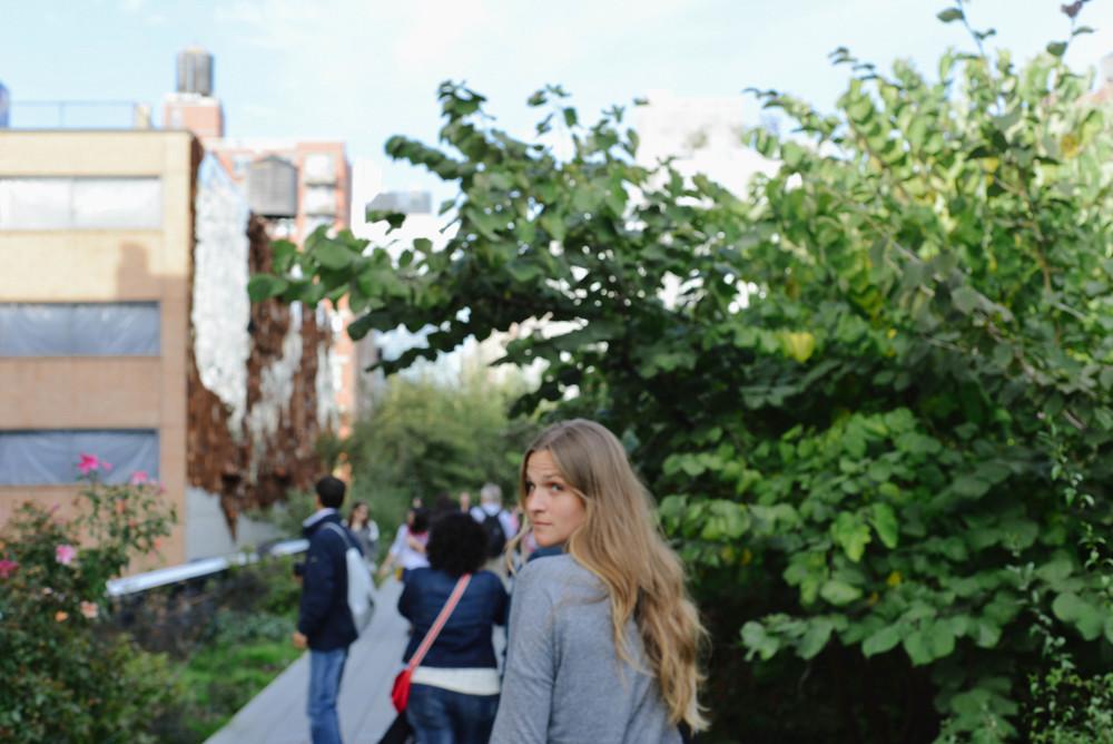 High Line Walk.