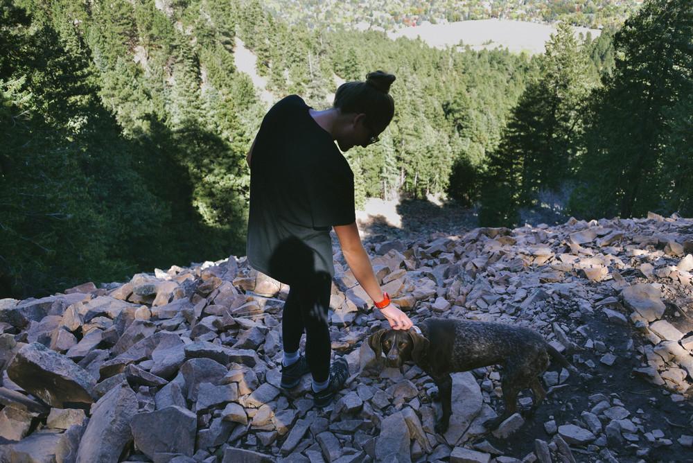 New hiking buddy!