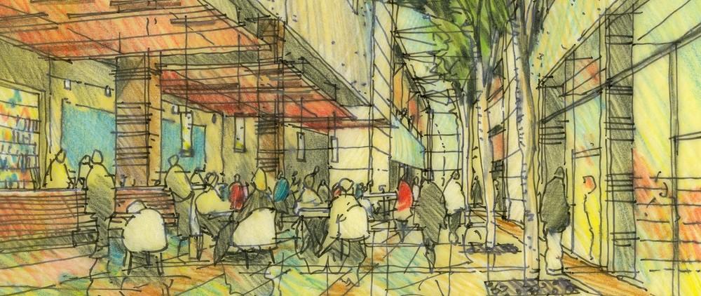 Melbourne Docklands concepts 2000