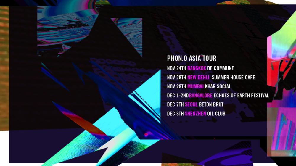 phon.o asia tour 2018