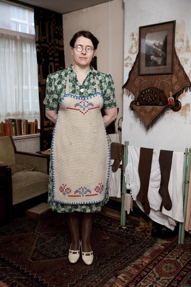 Miss Jo.Living in nostalgia. For Volkskrant Magazine.