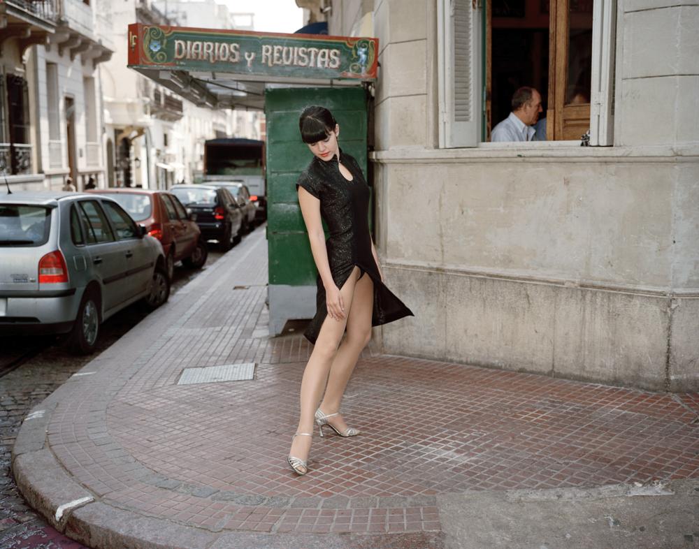 Mariecruz. 11 AM.Buenos Aires. From my series 25 hour Tango Night.