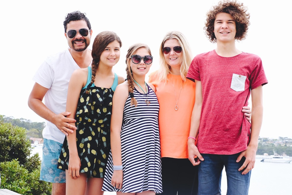 Our not so little family taken Dec 2014 on our Road-trip on the east coast of Australia.