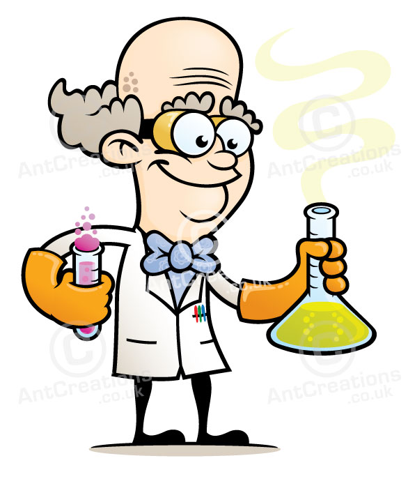 Graphic Design Cartoon Character : Scientist character design empiribox logo and
