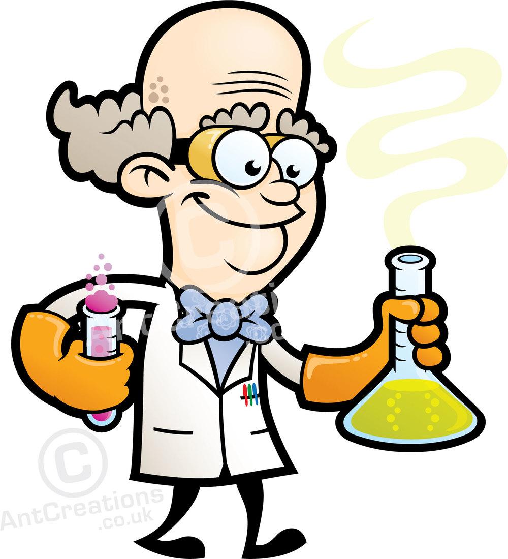 Graphic Design Cartoon Character : Scientist character design empiribox logo and