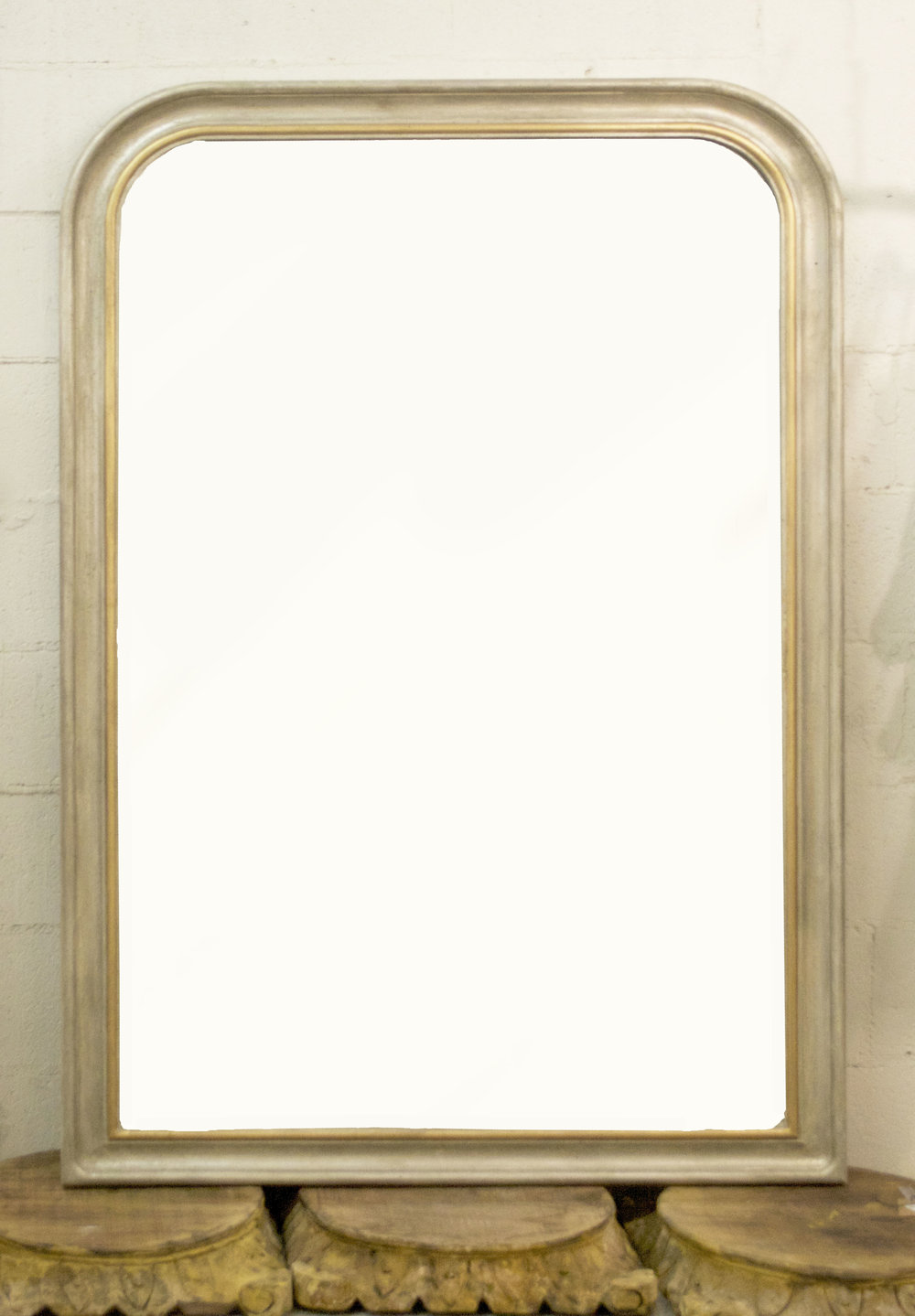 Two Tone Mirror # 11162