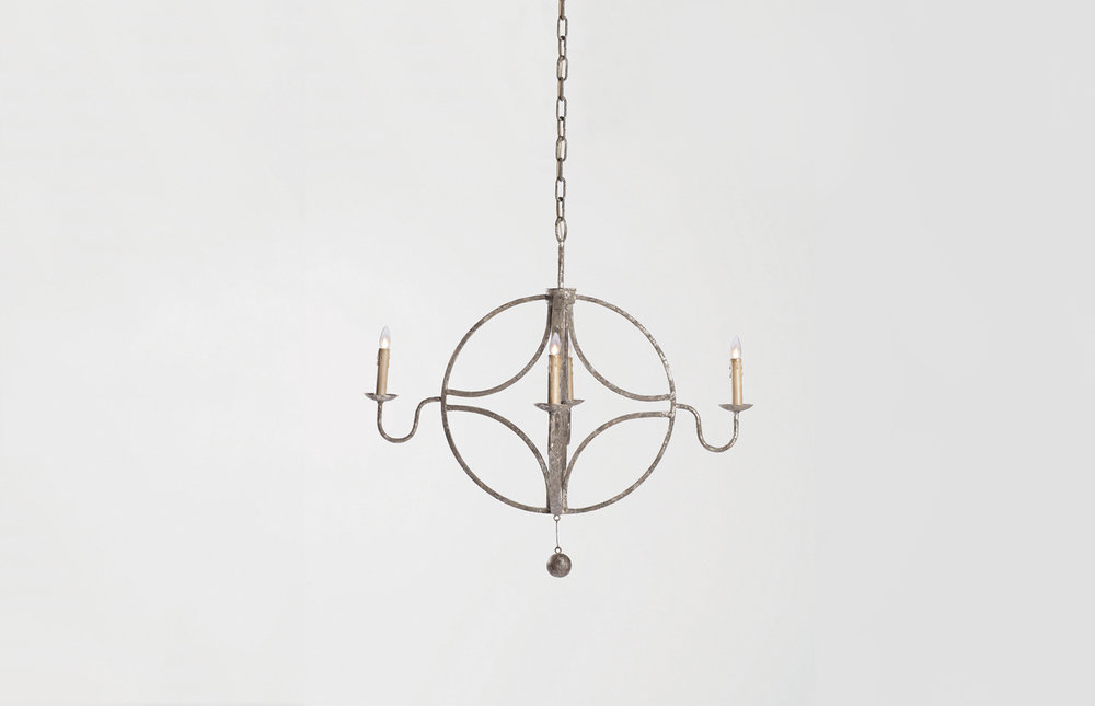Brass Chandelier - # 2600