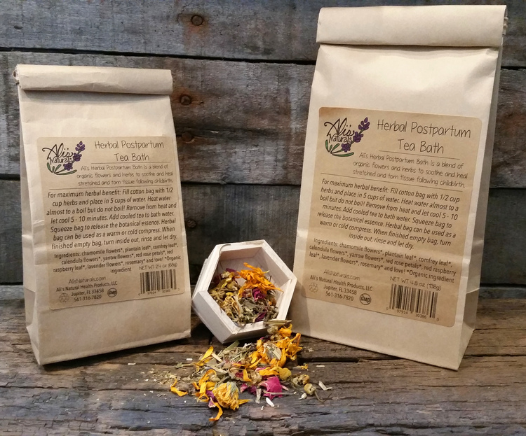 Baby Shower Gifts Under 15 ~ Herbal postpartum tea bath 5 baths all natural organic new