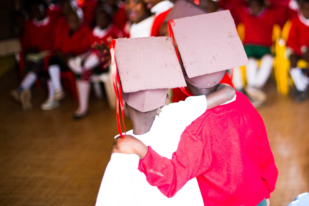 Graduation at Kibera School for Girls