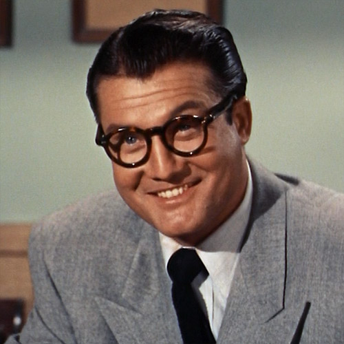 George Reeves Clark Kent Clark s  disguise  really