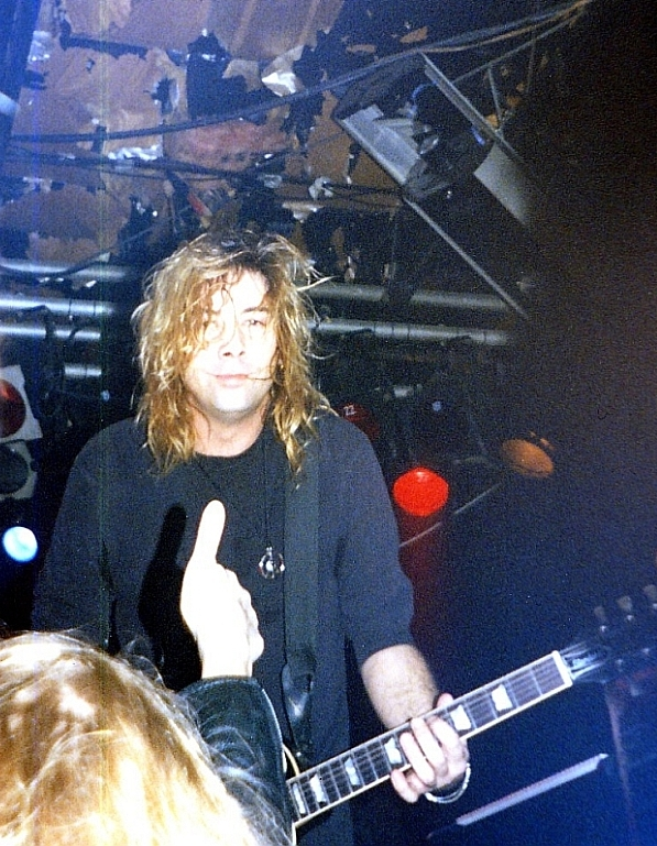 Picture from the last time I saw Jon with Lillian Axe.