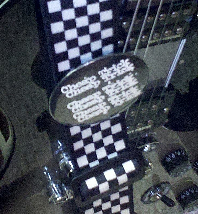 My original 1978 Cheap Trick badge