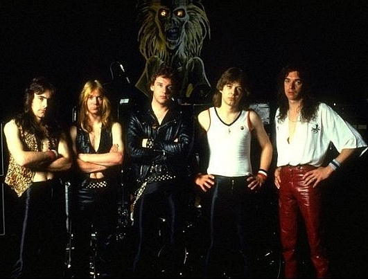 Early Iron Maiden.