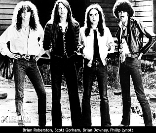 Classic Thin Lizzy line up 1976.