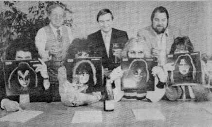 KISS promoting the '78 solo albums.