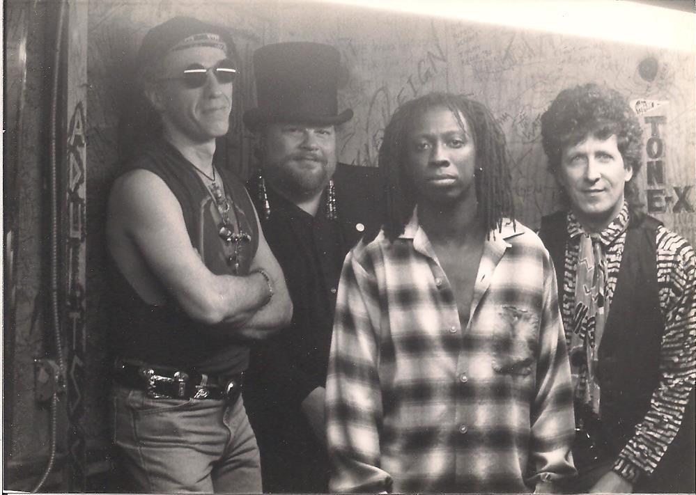 Willie Phoenix &True Soul Rockers -Mike Parks, Kozmos, Willie, Jim Johnson