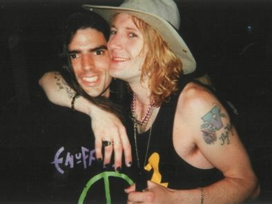 Me and Donnie Vie 1998