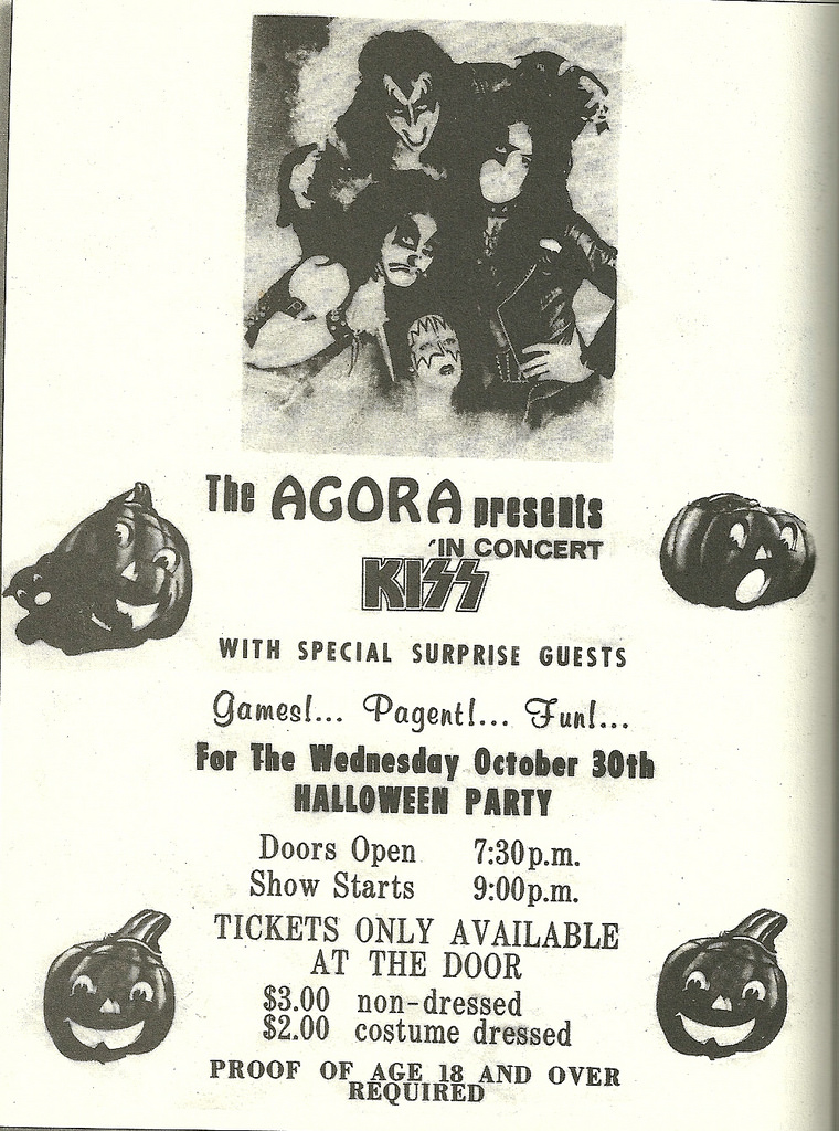 The Agora - October 30, 1974