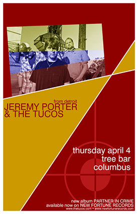 Tucos Tree Bar Poster - April 4, 2013