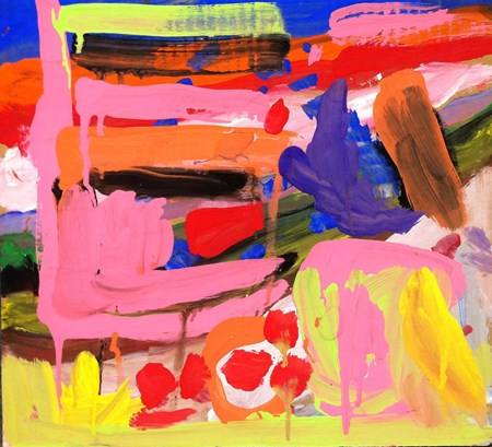 """""""A Painting."""" By Noelle, Kindergarten, CCSA."""