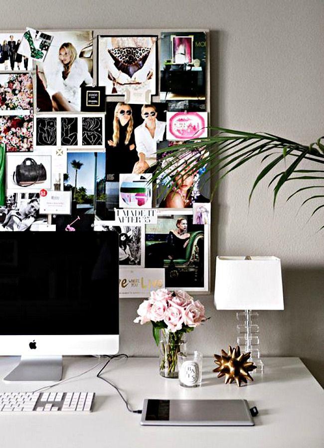 10. VIDA. Las plantas y flores son una excelente idea para darle a la oficina una sensación de vida y un contraste de formas y texturas con el resto de los objetos. OJO. Deben estar siempre verdes y felices.