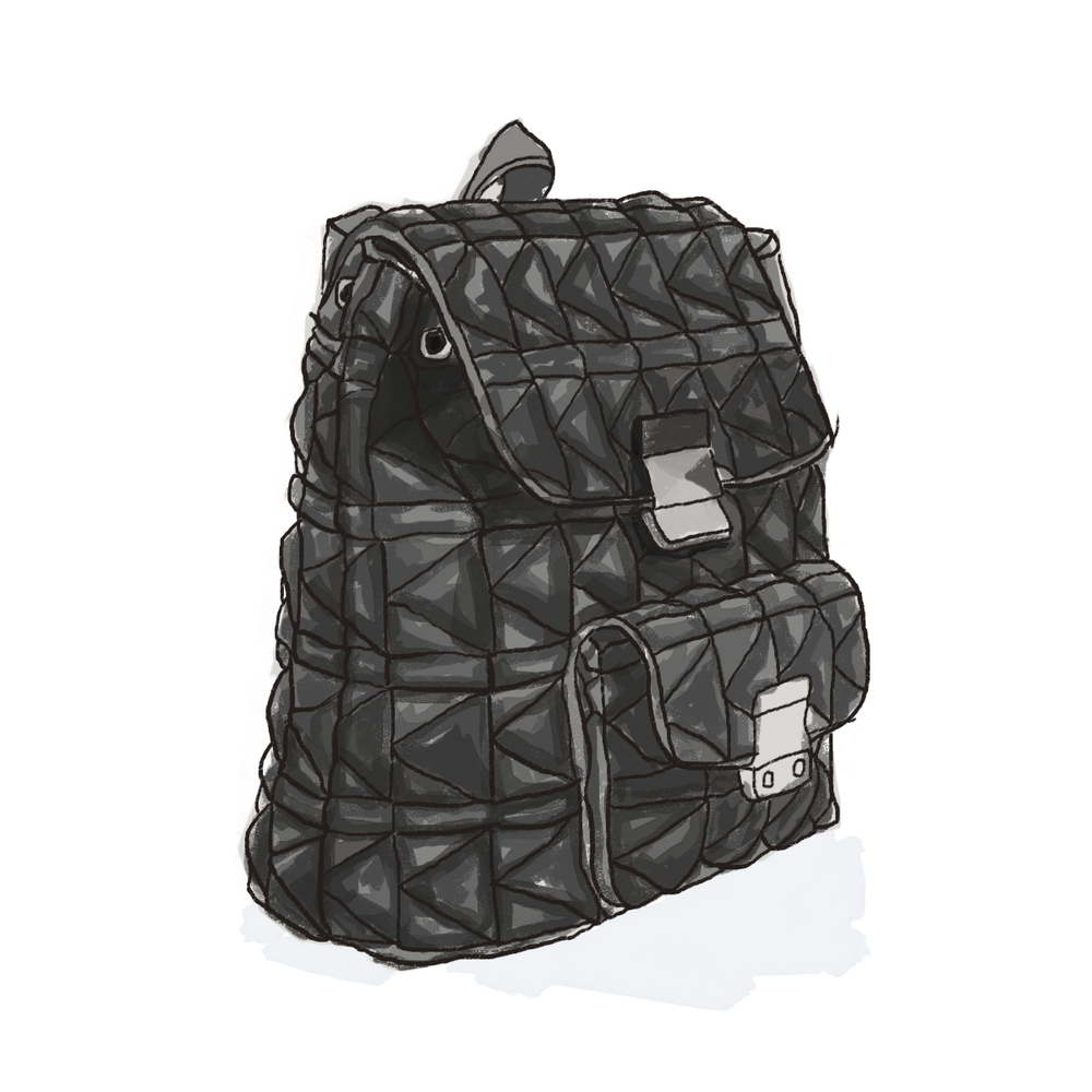 karl lagerfeld quilted leather backpack.jpg