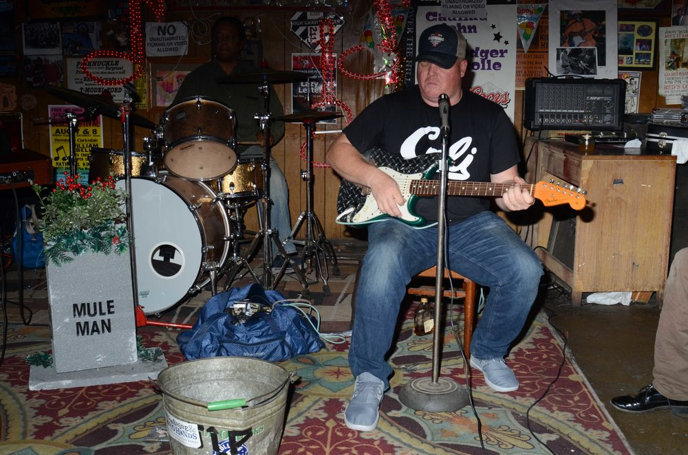 Mark 'Muleman' Massey at Red's, Clarksdale, MS