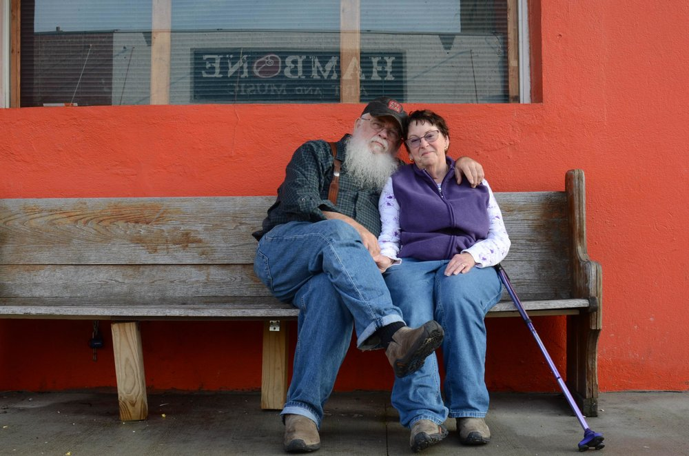 Dale & Joanna Chesnut, Blues Tourists, Clarksdale, MS