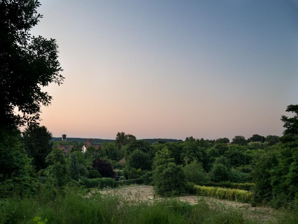 Sommerabend III - Summer sun sunset osnabrueck
