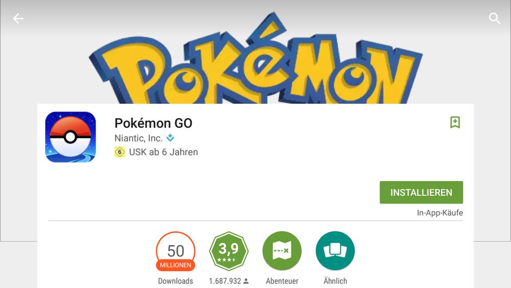 Nach nur drei Monaten hat das Spiel über 50 Millionen Downloads - nur für Android.