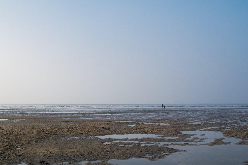 Cuxhaven Ebbe Meer Nordsee Watt Wattenmeer